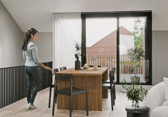 Peelers Yard –CGI living room